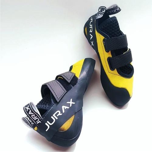 zapatillas escalada pedula jurax yana v2 amarillo/negro