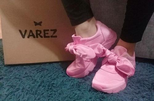 zapatillas estilo fenty rihanna