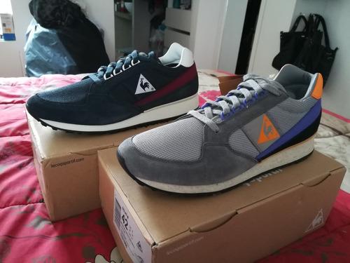 zapatillas europeas le coq sportif estilo retro 100% nuevas