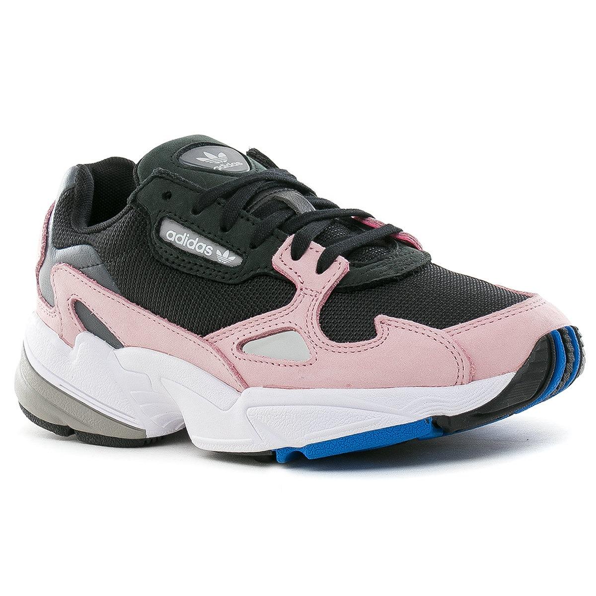 zapatillas falcon w core negra rosa adidas originals. Cargando zoom. 92db08018410