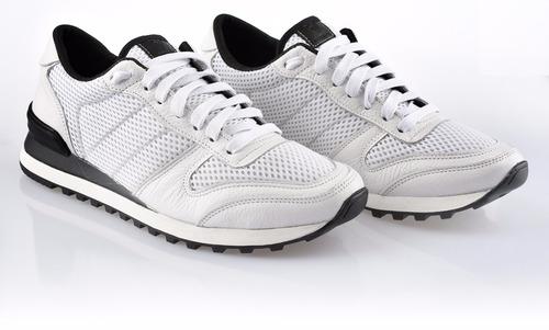 zapatillas farenheite z07 blanca tela