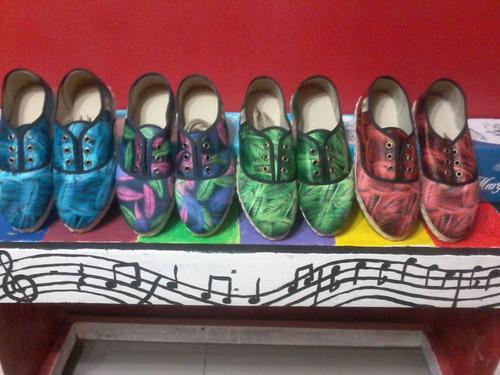 zapatillas femeninas (margarita mia) de tres ojalillos