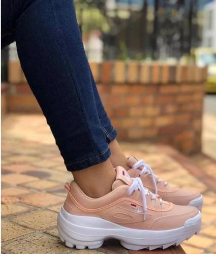 zapatillas fila de dama