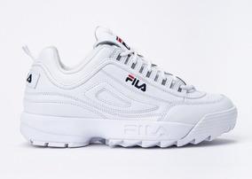 nuevo producto 02ba1 3cccb Zapatillas Fila Disruptor 2 Premium Blanca De Hombre