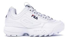 Fila Ii Premium De Zapatillas Disruptor Mujer Blanca nwZ0PkXN8O
