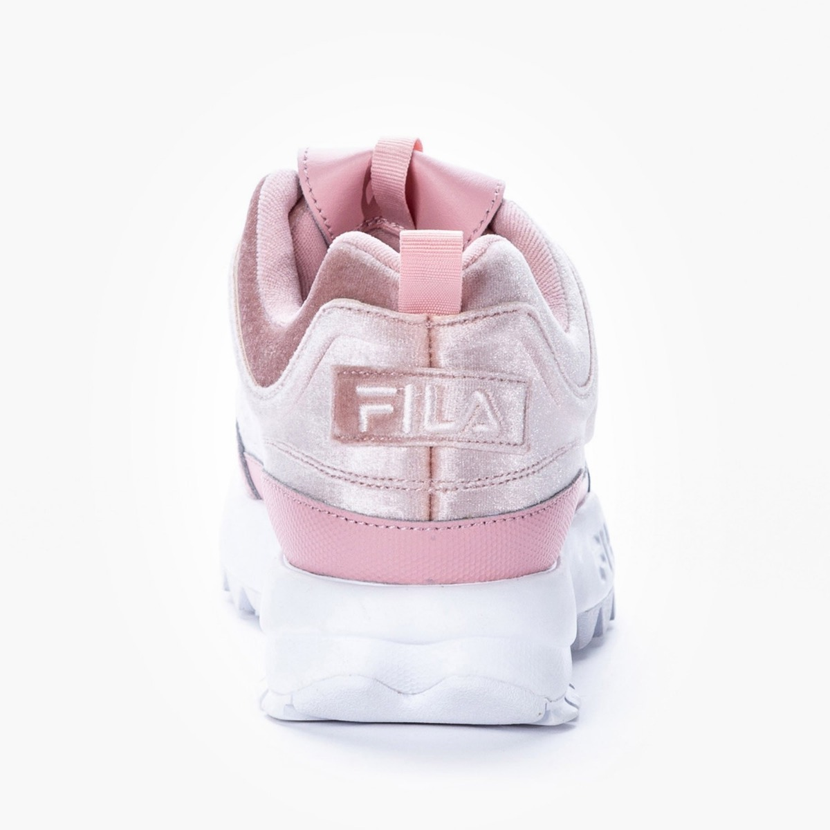 Ii Rosa Fila Velour Mujer Premium Zapatillas Disruptor De Pwn0Ok