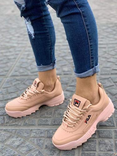 zapatillas fila disruptor tallas 35 hasta 39