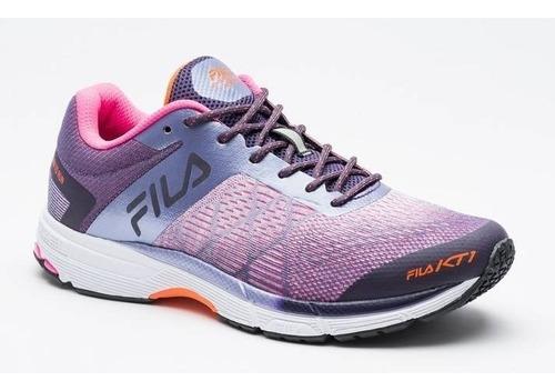 zapatillas fila running kt1 / cross mujer training - olivos