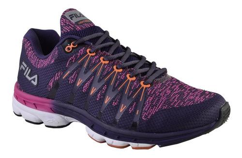 zapatillas fila running lightstep / twisting mujer - estacion deportes olivos