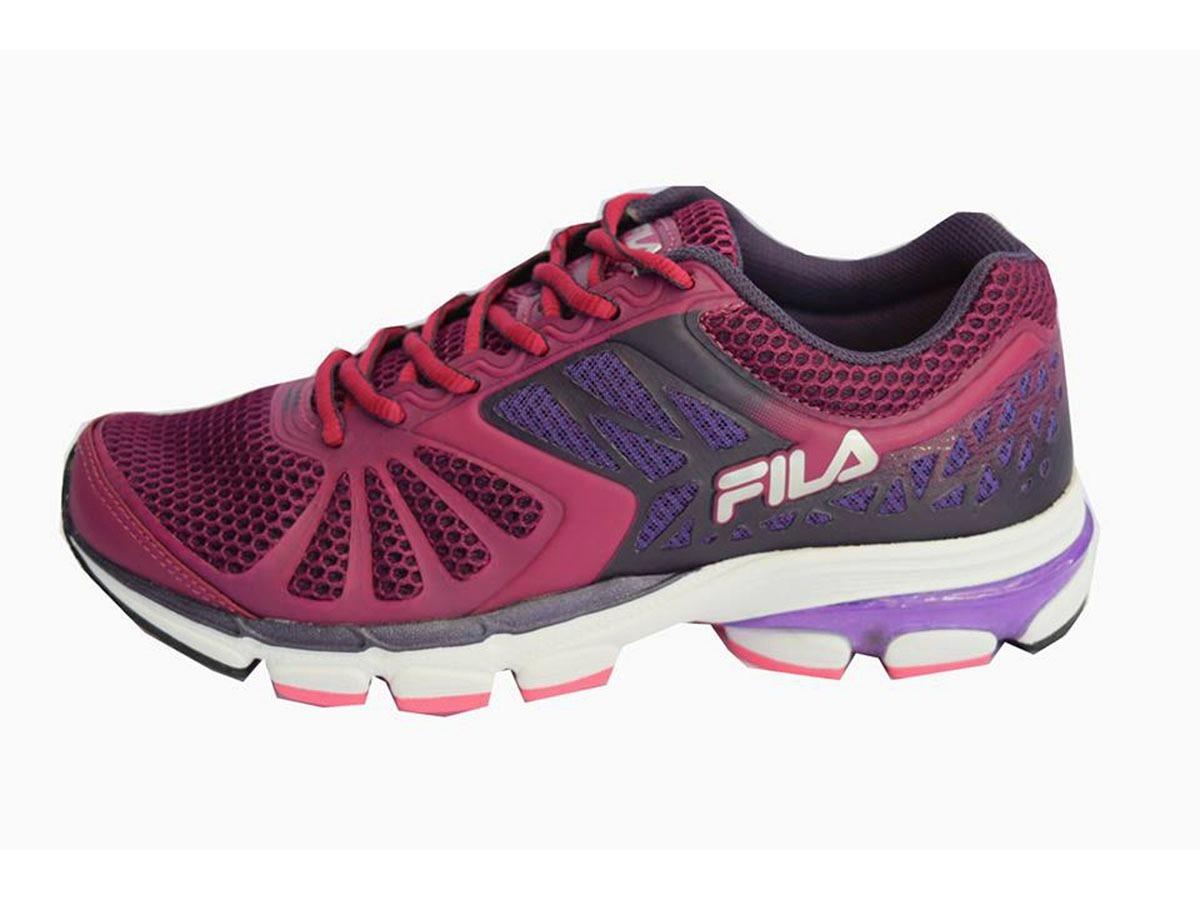 96caa64043 Zapatillas Fila Running Pulse 2.0 Mujer Bordo - $ 2.099,00 en ...