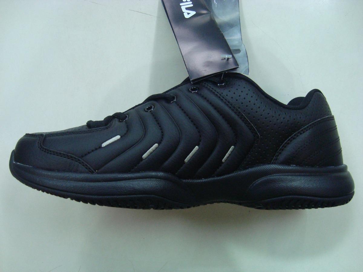 zapatillas fila cuero