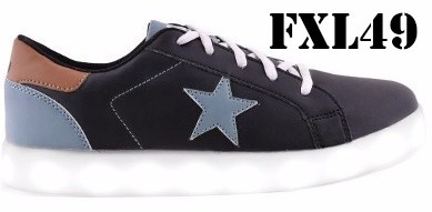 zapatillas footy led varon mundo moda kids fxl49