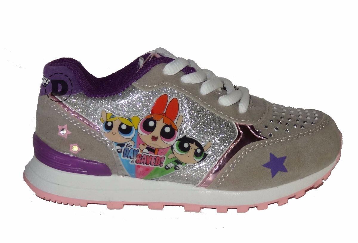 Chicas Luz 14 Calzado Superpoderosas Zapatillas Footy Dreams 5pqEEg