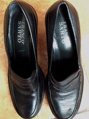 zapatillas franco sarto negros talla 7 oferta $275