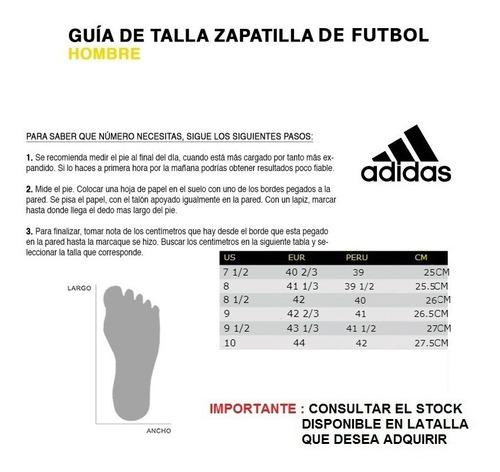 zapatillas futbol adidas nemeziz tango 18.4 grass sintetico