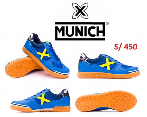 zapatillas futsal munich nuevas orignales