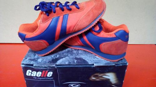 zapatillas gaelle niño o niña , material sintetico