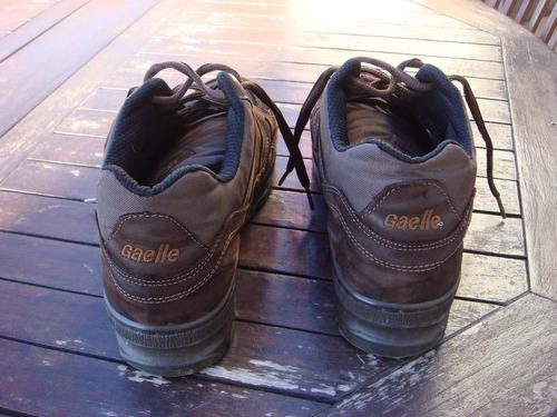 zapatillas gaelle trekking marrones oportunidad