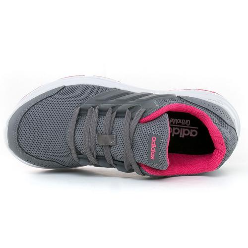zapatillas galaxy 4 dark grey adidas