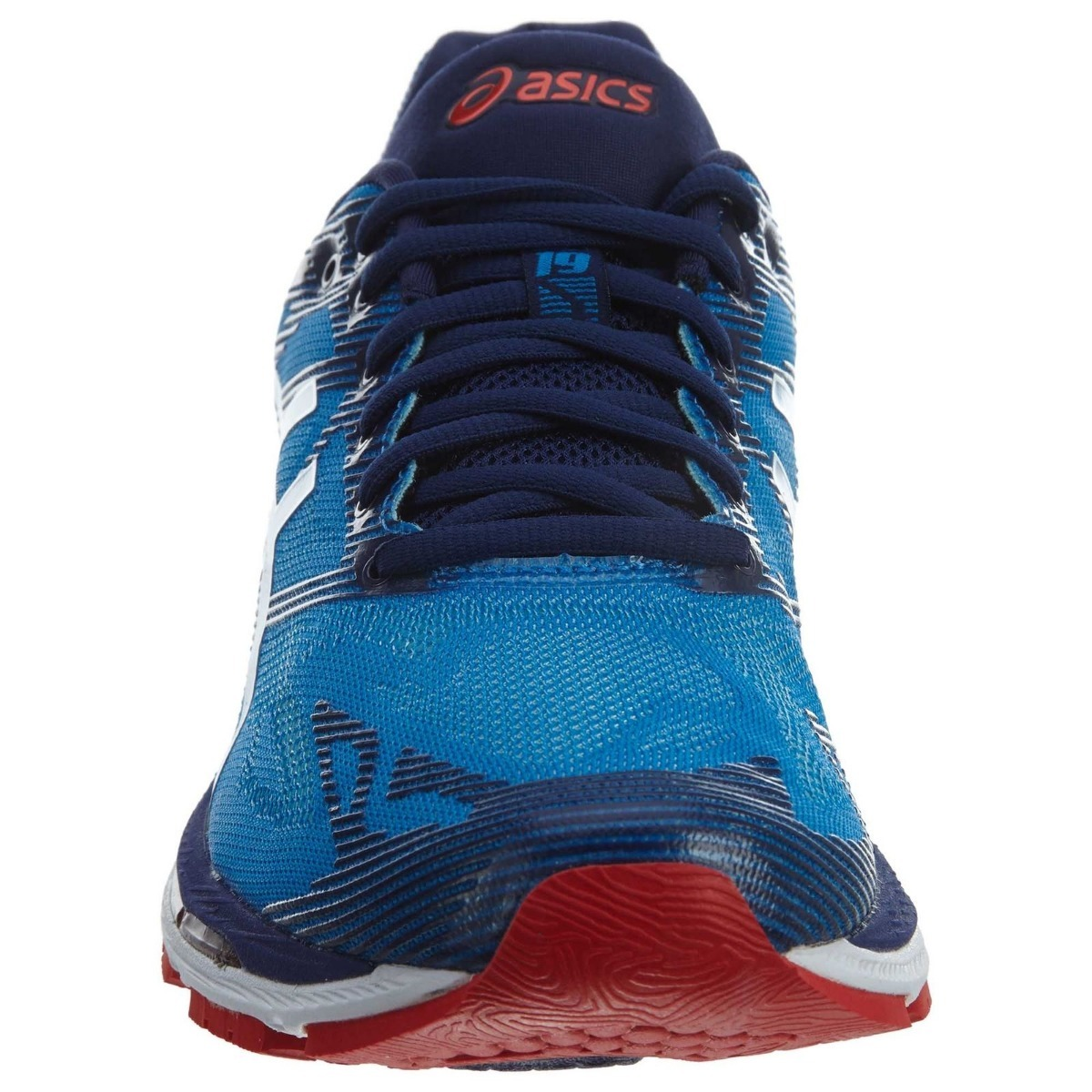 buy popular 6b777 4bbed Zapatillas Gel Nimbus 19 Asics T700n/4301 - Azul