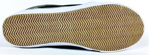 zapatillas glock california gris negro hombre nuevo bmx long