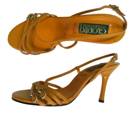 e4764327 Zapatillas Gloria #5, Piel Cabra, Tacón 9 Envío Gratis - $ 250.00 en ...