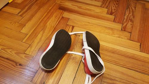 zapatillas grisino rojas