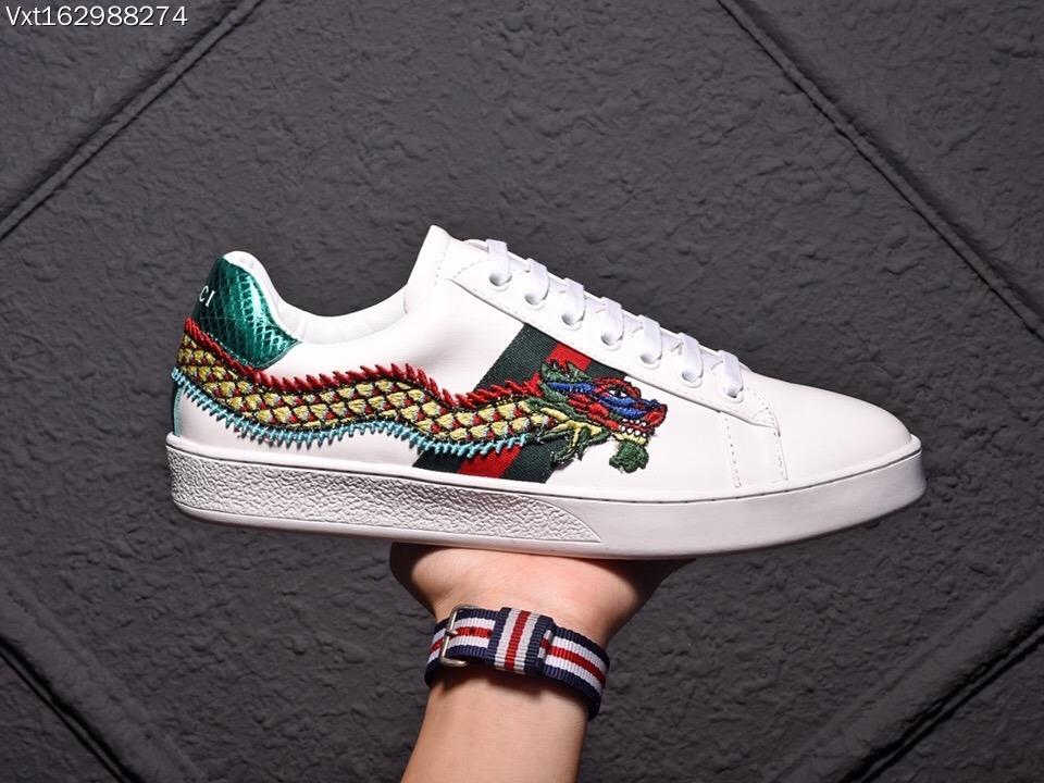 4900028bb1e75 zapatillas gucci ace snake embroidered serpiente