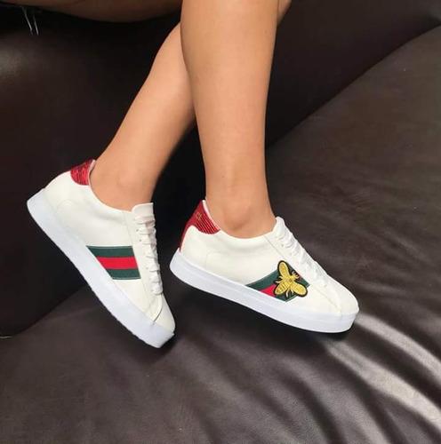zapatillas gucci mujer