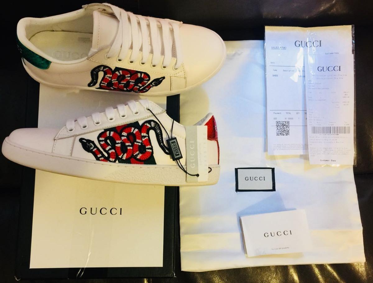 9f364eb700 Zapatillas Gucci Snake Exclusiva - Oferta!!! - $ 14.900,00 en ...