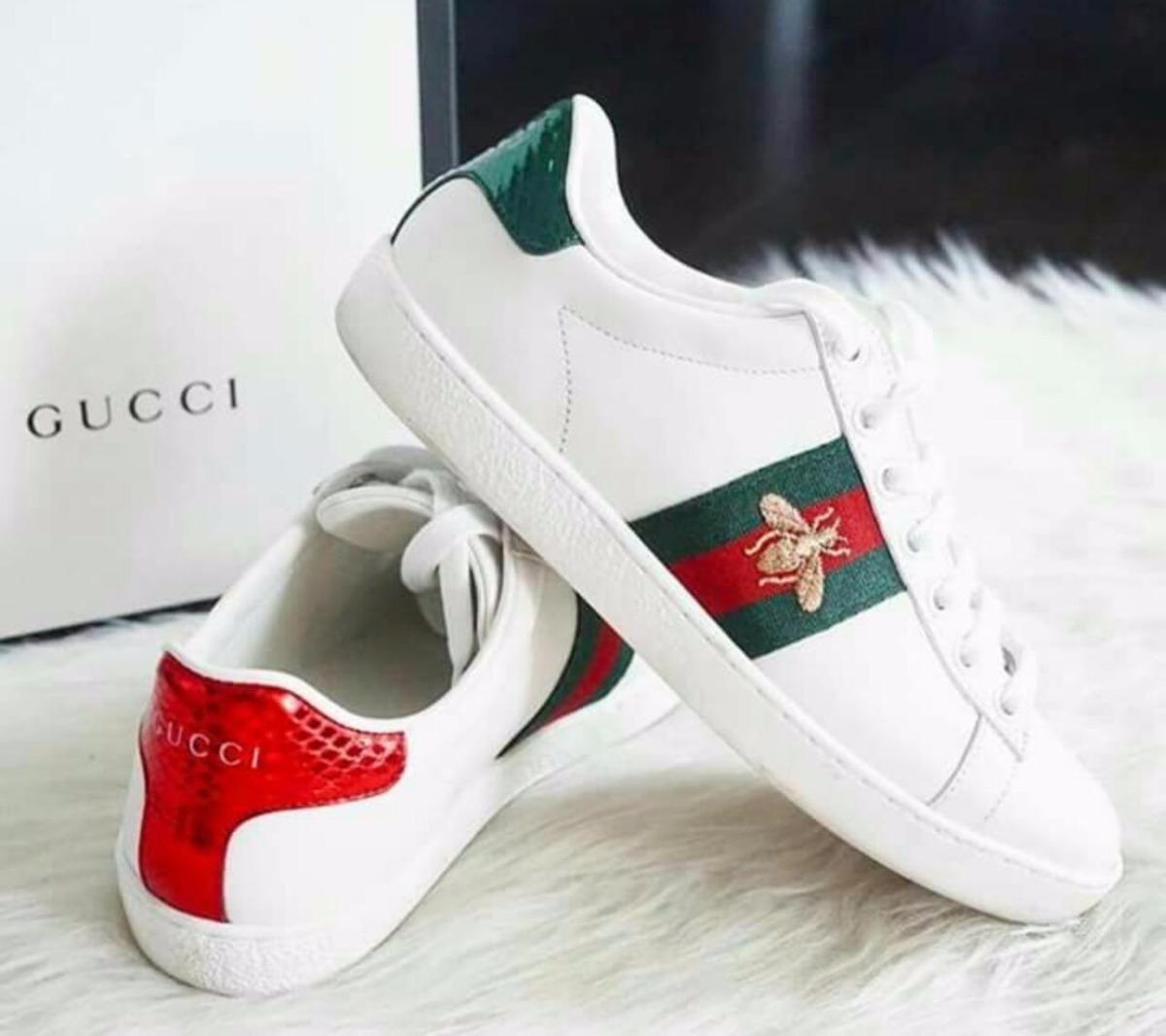 4e1750e244384 Zapatillas Gucci Unisex Importadas En Caja Envíos Gratis ...