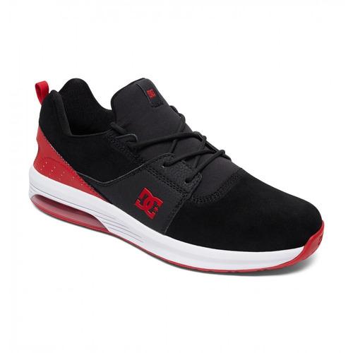 zapatillas heatrow ia negro con rojo