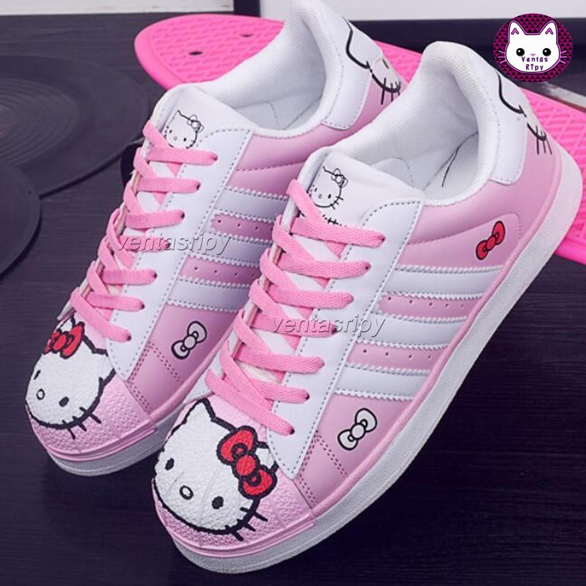 d8e8a473 Zapatillas Hello Kitty Sólo Talla 38 - S/ 170,00 en Mercado Libre