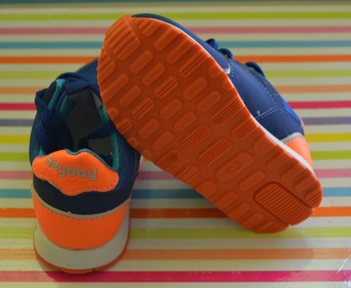 zapatillas heyday linea deportiva nene 18-29 little treasure