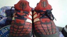 free shipping 3156a 5af0d Zapatillas Hombre Araña adidas Marvel Originales Caba
