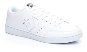 zapatillas converse blancas cuero