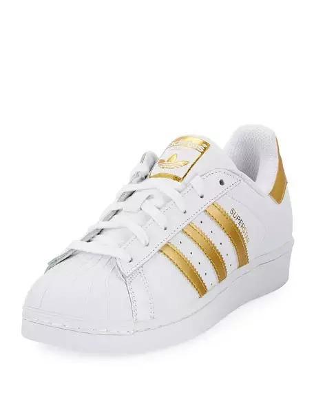 zapatillas mujer adidas doradas