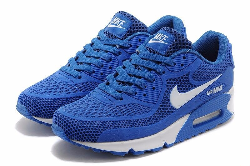 purchase hombres nike air max 90 azul bb459 de769