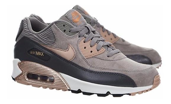 Zapatillas Hombre Mujer Nike Air Max 90 Dorado / Sneakerbox