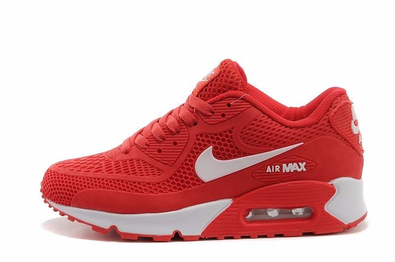 nike air max 90 rojo hombres