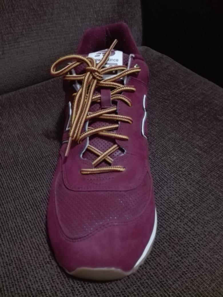 Zapatillas Hombre New Balance M574 Eeuu Bordó -   3.200 498dc8d3de
