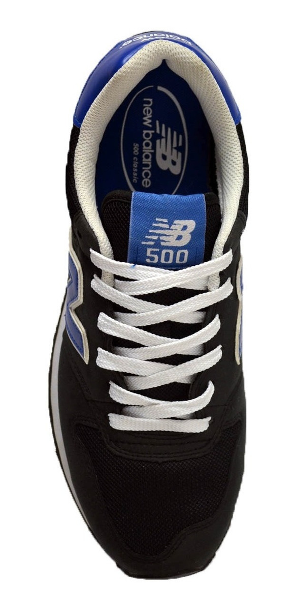 new balance hombre 500 negro