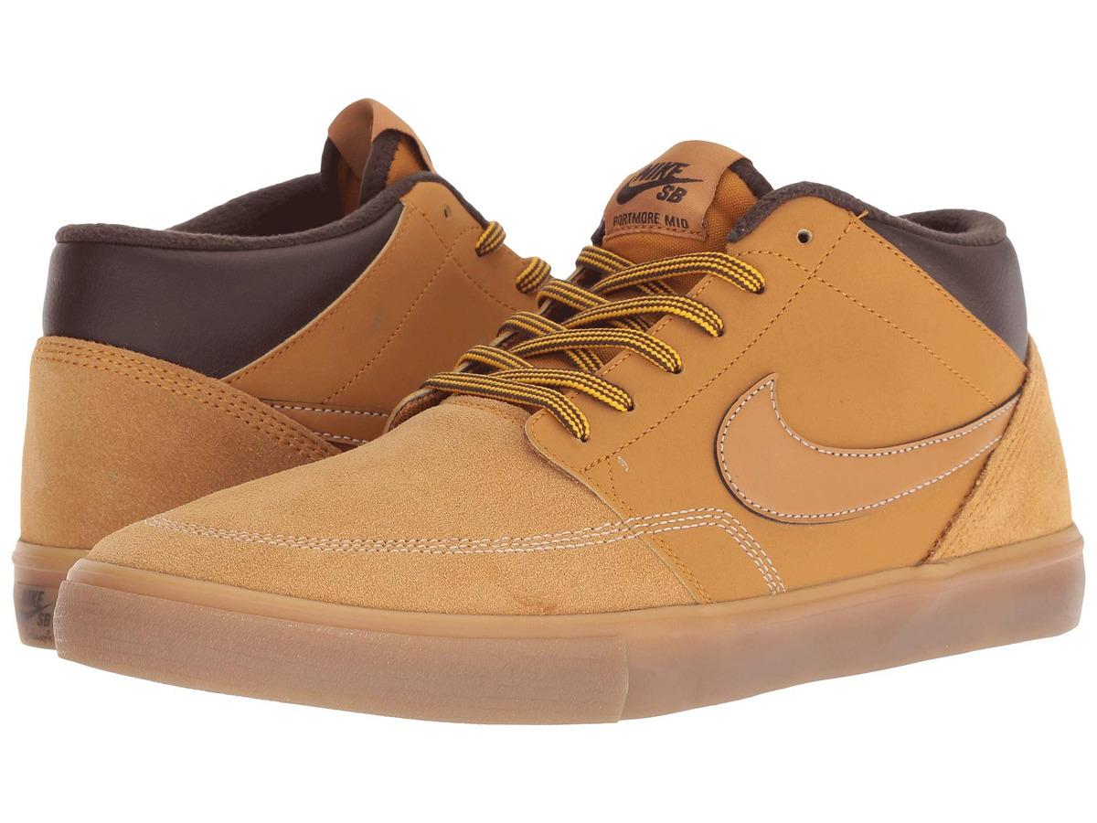 Solarsoft Mid Bota Zapatillas Nike Ii Portmore Hombre CQBtxshrd