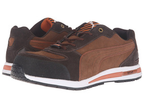 Eh Brown Barani Low Sn Men's Puma Safety R354qAjL