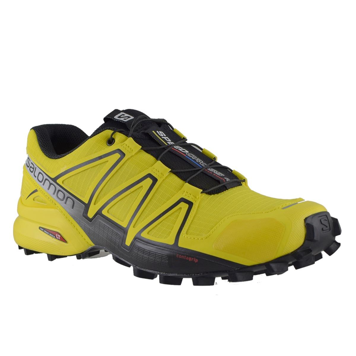 e6506e78281a9 zapatillas hombre salomon trail running speedcross 4 ye bl. Cargando zoom.