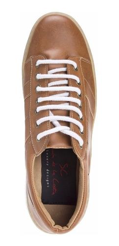 zapatillas hombre urbanas moda eco cuero simón de la costa