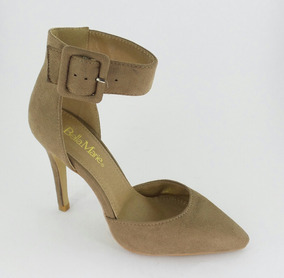 7345450520 Zapatillas Importadas Bella Marie Modelo Claudia-1 Taupe