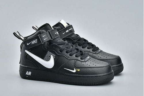 zapatillas importadas/ nike air force 1 mid '07/ caña alta