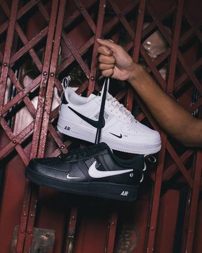 zapatillas importadas/ nike air force 1 mid '07/ caña baja