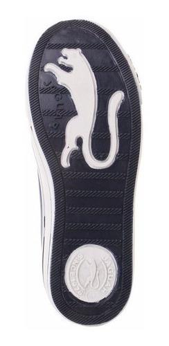 zapatillas jaguar de lona clasica con puntera goma  art 320